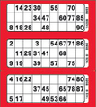 3View Bingo Paper Red