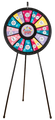 12 to 24 Slot Adaptable Floor Stand Prize Wheel 31""