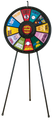 12-Slot Floor Stand Prize Wheel 31""