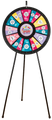 18-Slot Floor Stand Prize Wheel 31""
