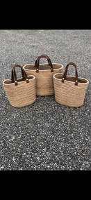 Aalta Yarn USA Wool Basket - Latte Small