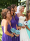 Aqua Blue Daisy Bouquet - Bridal Wedding Bouquet