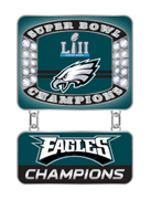 Philadelphia Eagles Super Bowl LII (52) Champs Ring Style Pin