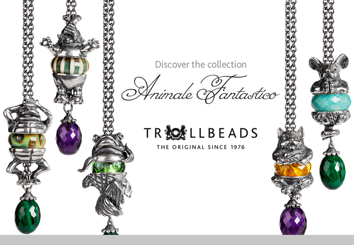 Trollbeads Animale Fantastico Collection