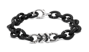X Jewelry Lover's Bond Silver Bracelet