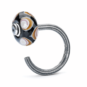 Trollbeads Star Ring of Change with Glass Bead