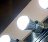 ION Brite anion LED 7 watt cool bulbs kill E coli in bathrooms and kitchens