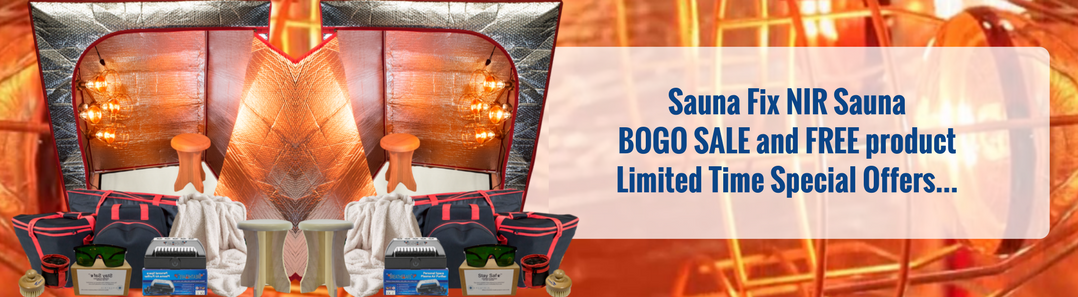 Shop Sauna Fix BOGO Sale