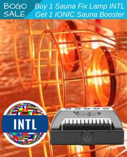 Buy 1 Sauna Fix lamp INTL, Get 1 Ionic Sauna Booster