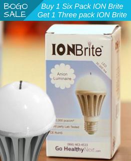 ION Brite Anion LED Bulbs