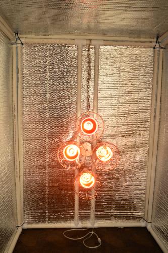 Sauna Enclosure with Sauna Fix
