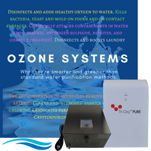 Tri-Oxy PURE Ozone System for ozonating water at home