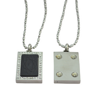 Scalar Energy Pendant - rectangular - Quantum Jewelry at Go Healthy Next