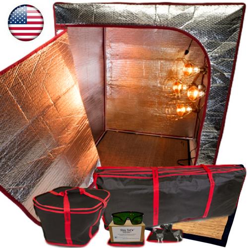 Sauna Fix Travel Bundle USA Portable Near Infrared Sauna