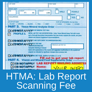 Any HTMA test forms submitted without a mailing address will be charged a lab report scan fee in order to return the form for correct information.