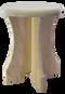 Portable Poplar sauna stool