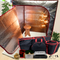 Sauna Fix® Ultimate Bundle UK 240 Volt Near Infrared Sauna, fitted for United Kingdom outlets, at Go Healthy Next.