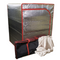 Sauna Fix® radiant tent, tent travel bag and organic bamboo fleece