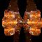 Two Sauna Fix® Near Infrared Sauna lamps