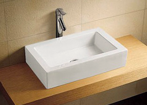 Our square vanity bowl.