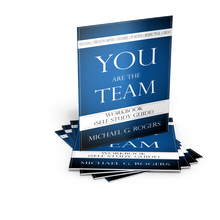 The You Are the Team Workbook (Self-Study Guide) was developed to help teammates apply and reinforce the important concepts from the book You Are the Team—6 Simple Ways Teammates Can Go from Good to Great.
