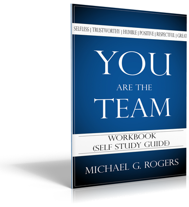 Front cover of You Are the Team workbook.