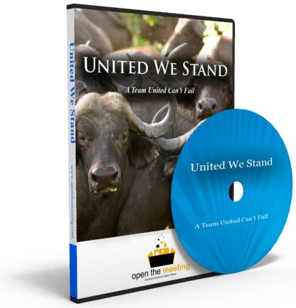 United we stand divided we fall team unity team building video.