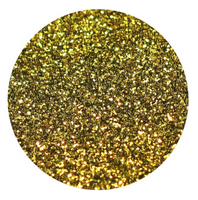 Gold Glitter Vinyl Sheet Heat Transfer