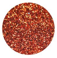 Copper (Dark Orange) Glitter Vinyl Sheet