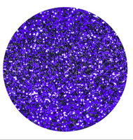 Dark Purple Glitter Vinyl Sheet