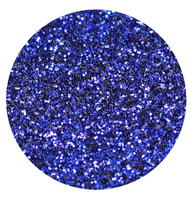 Royal Blue Glitter Vinyl Sheet