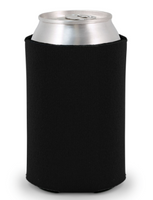 Black - Plain Koozie or Can cooler