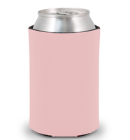 Pink - Plain Koozie or Can cooler