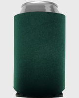 Hunter Green - Plain Koozie or Can cooler