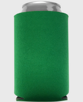 Kelly Green - Plain Koozie or Can cooler