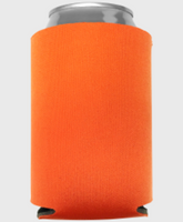 Neon Orange - Plain Koozie or Can cooler