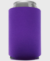 Purple - Plain Koozie or Can cooler