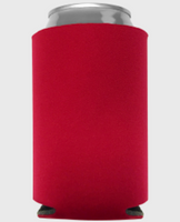 Red - Plain Koozie or Can cooler
