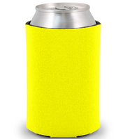 Yellow - Plain Koozie or Can cooler