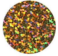 Golden - Hologram Vinyl Sheet