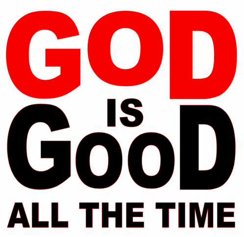 God Is Good All The Time New Vinyl Transfer Red White Texas