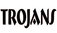 Trojans Mascot Vinyl Transfer (Black)