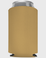 Gold - Plain Koozie or Can cooler
