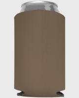 Taupe - Plain Koozie or Can cooler