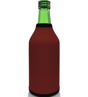 Burgundy Bottle Koozie Neoprene