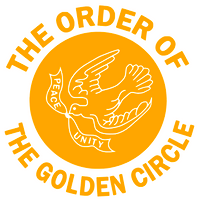 (Deposit for 25 qty @$9.99/pc) The Order of the Golden Circle with dove custom Vinyl Transfer (Black)