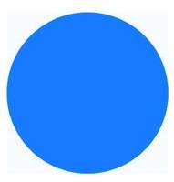 Neon Blue PVC 22 - PVC Vinyl Sheet
