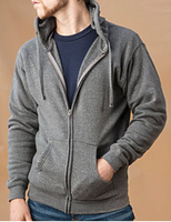 Fleece Zip Hoodie Unisex Special Blend Ei-Lo 9381 Shirt