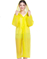 Rain Coat (Yellow) for Water Falls, Beach party, Fishing, Outdoor Hiking, rain protection