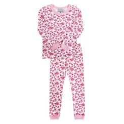 Coccoli Pink Flowers Pyjamas